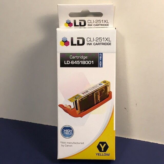 Compatible Canon 6448B001 / CLI-251XL HY Black Ink Cartridge