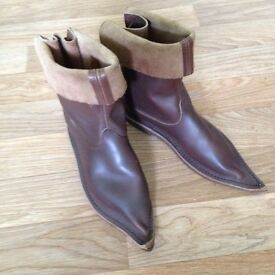 Cosplay/LARP leather boots size 5