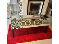 Coffee table mirror style