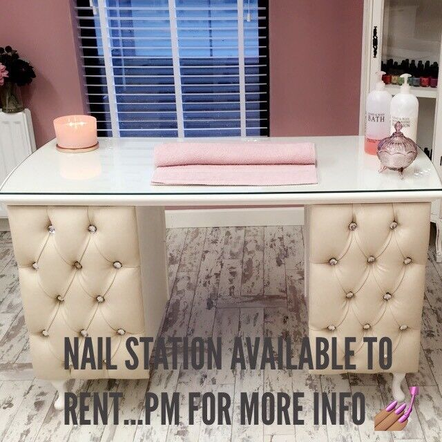 Nail Station & Hairdressing chair available to rent @ La Belle Boutique Hair & Beauty Salon Lisburn