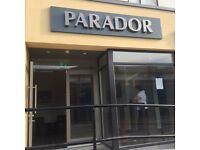 Part-Time Bar Person-The PARADOR Ormeau Road Belfast