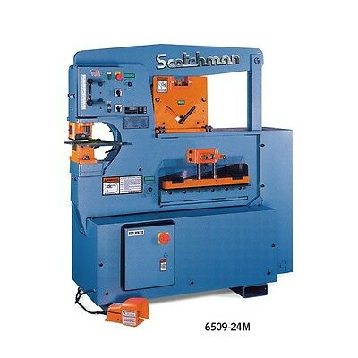 New Scotchman 6509-24m 65 Ton Ironworker Free Shipping