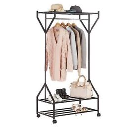 Gosford Clothes Rail, virtually brand new in pristine condition, collection only. £35
