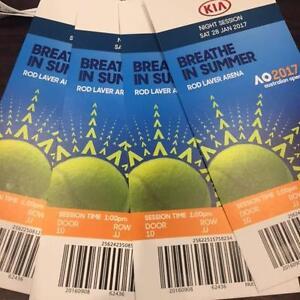 Australian Open Tennis Womens Final-4 Tickets Mount Waverley Monash Area Preview