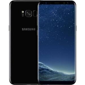 Samsung Galaxy s8 64GB Black UNLOCKED 10/10 condition /w original box, accessories $550 FIRM