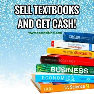 Sell Your Textbooks And Get Cash! Instant Quote - Free Shipping!