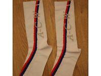 New A Cold Wall Blue Red White Pair of Socks Off Nike Adidas Stussy Gosha Rubchinskiy Heron Preston