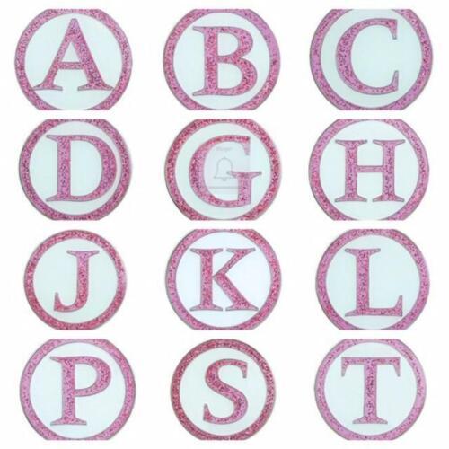 Surprizeshop Ladies Golf Ball Marker. Pink Letter. A - Z