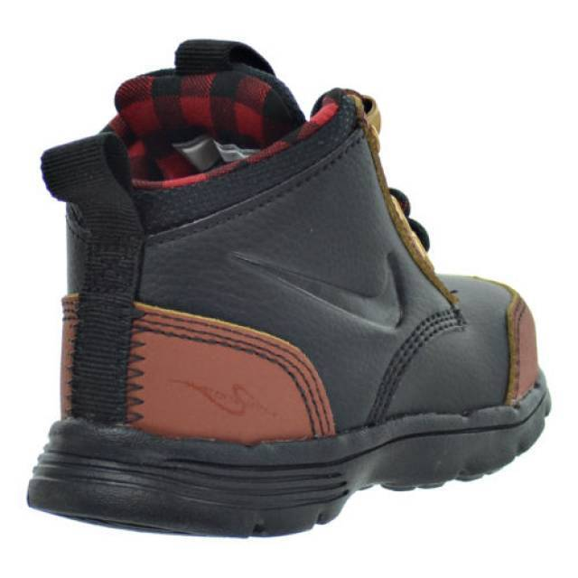 New Nike Baby DF Jack ACG Toddlers Boots (535923-001)  Black/Henna-Canyon Gold 1