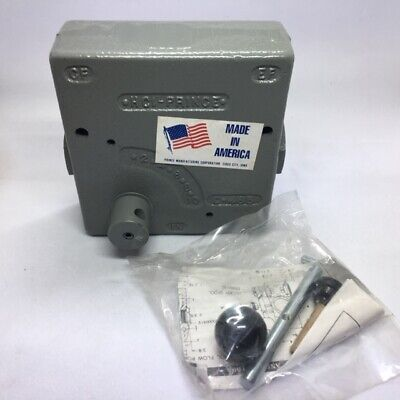 Prince Hydraulic Compensated Flow Control Valve Rd-1950-16 12 0-16gpm Adjust