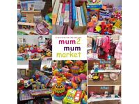 Mum2mum market nearly new sale - CHINGFORD
