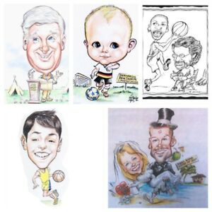 Caricatures/illustration