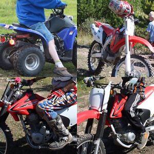 Excellent Condition Honda Dirt Bikes and ATV!