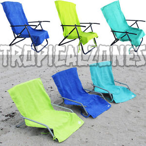 Lounge Lizard Quick Dry Sand Chair Covers 3 Colors Teal