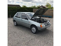 1989 Peugeot 205 1.4 Automatic Petrol 5 Door with only 40,000 Mile's