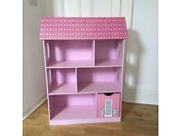 Dollshouse Bookcase with secret roof compartment