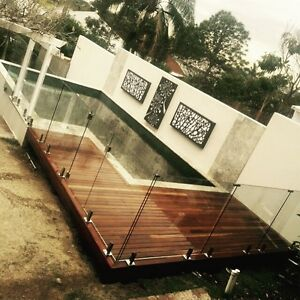 Frameless glass pool fencing Mudgeeraba Gold Coast South Preview