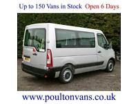 2013 (13) RENAULT MASTER SL30 SWB 3 SEAT WHEELCHAIR / DISABLED ACCESS MINIBUS