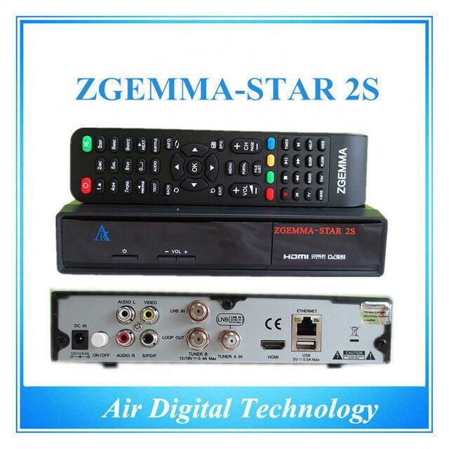 Zgemma Star 2s - Linux Satellite receiver HD