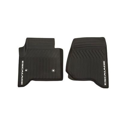 23452752 2015-2019 Cadillac Escalade /ESV OEM Front Black Rubber Floor Mats NEW