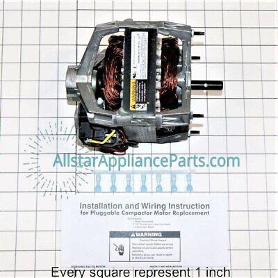 trash compactor drive motor wc36x5062