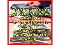WANTED CARS AND VANS SCRAP MOT FAILURE - FREE COLLECTION - TOP PRICES CHORLEY, CLAYTON LE WOODS