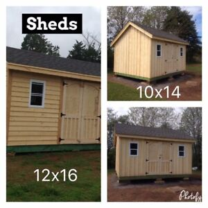 Sheds and Mini Barns