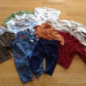 Baby boy clothes - mixed lot - 18-24 months