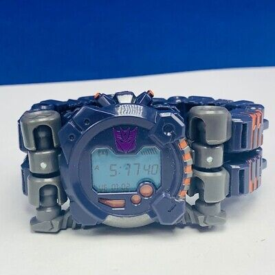 Transformers action figure robot toy Hasbro 2007 Meantime wristwatch watch Time