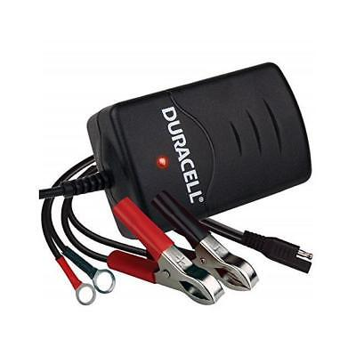 (Duracell 12V Automatic Battery Maintainer Charger 1 Amp 3 Charging Stages DRBM1A)