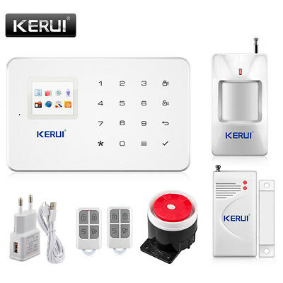 Kerui G18 Wireless GSM SMS Android IOS APP Home Burglar Security Alarm System