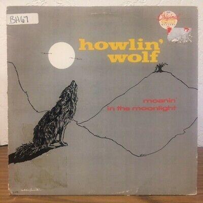 Howlin' Wolf - Moanin' In The Moonlight (Vinyl LP) 1986 Reissue - Disc is VG/VG+
