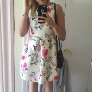 Floral Dress from Honey Boutique