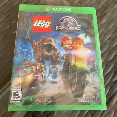 LEGO Jurassic World Xbox One Brand New Factory Sealed