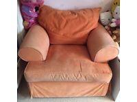 Armchair by Vokins - orange