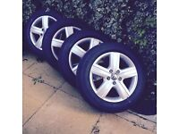 Brand New VW T6 Thunder 17 Inch Alloys & Continental Tyres