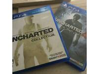 Uncharted-Collection 1-3 / also Uncharted 4/ both mint/ £20 each or both for £35 or swaps
