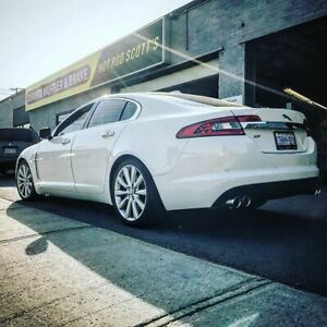 Jaguar XE, XF, XJ , F Type Performance Exhaust and Repairs