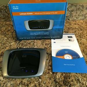Lynksys E2000 wireless router