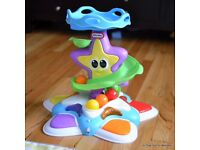 Little tikes stand and dance under the sea starfish ball drop baby toy