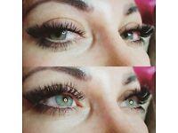 Russian Eyelash Extensions , volume lashes , 3D - 6D Lash Extensions