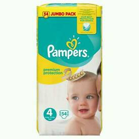 Pampers Size 4 x 2