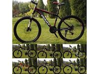 "Red and Black 2016 Giant Atx Mountain bike ""NEW"" boxed 26""1.95 Medium Size Aluminum Alloy"