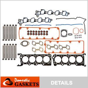 99-00-Ford-Mustang-GT-4-6L-SOHC-Head-Gasket-Bolts-Kit