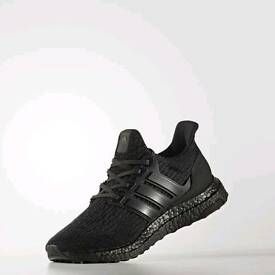 Adidas ultra boost triple black 3.0