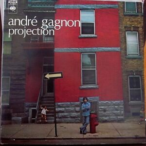 (2) Early ANDRE GAGNON Vinyl Albums 1973 and 1975 Kitchener / Waterloo Kitchener Area image 1