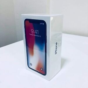 iPhone X 256GB sealed in the box