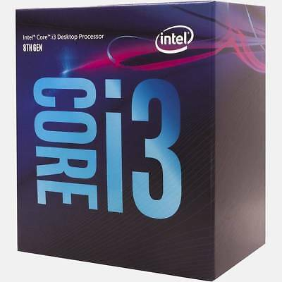 Intel Core i3-8100 Coffee Lake Processor 3.6GHz 8.0GT/s 6MB LGA 1151 CPU, Retail
