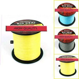 Hot-Sale-Sea-Freshwater-PE-Dyneema-Spectra-Braid-Fishing-Line-100-1000M-10-100LB