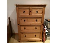 Corona style large chest of drawers for sale - excellent condition